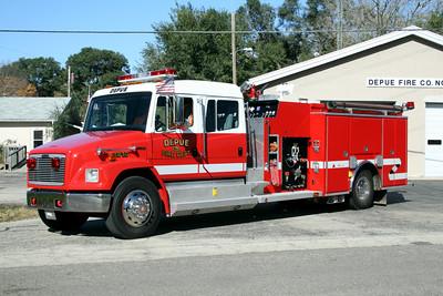 DEPUE  ENGINE 2810  2002 FREIGHTLINER FL-80 - ALEXIS  1250-1000  #1777