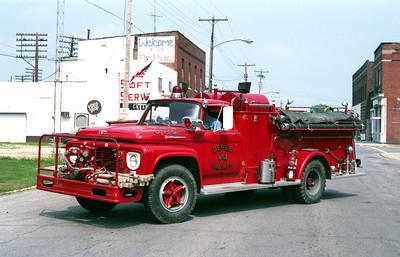DEPUE ENGINE 2  1961 FORD F - ALEXIS  500-1000   #665