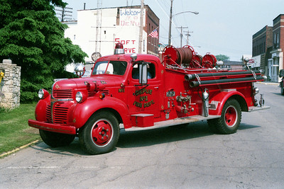 DEPUE  ENGINE  1946 DODGE - CENTRAL ST LOUIS  500-250
