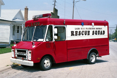 LADD RESCUE 3  1974 GMC STEPVAN