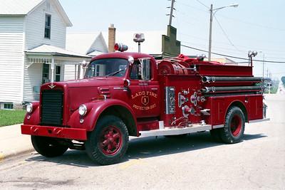 LADD ENGINE 1  1963 IHC V-196 -ALFCO  750-750  1 1 9215