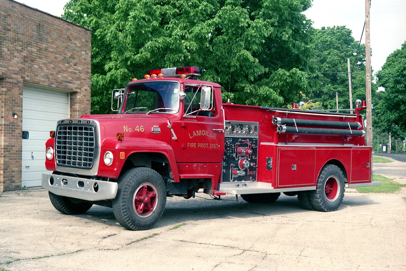 LAMOILLE ENGINE 46  1979  FORD L-800 - DARLEY  750-1000