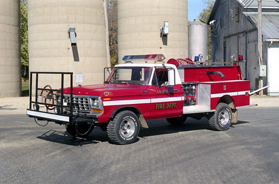 LA MOILLE ENGINE 49    1978 FORD F SUPER DUTY 4X4  - PIERCE   250-250   X-CAT PLANT FD AT AURORA