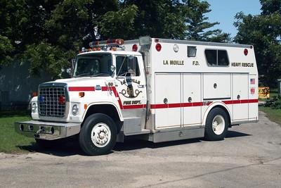 LA MOILLE FD  RESCUE 50  1984  FORD LS-8000 - MARION  X-PLAINFIELD FPD