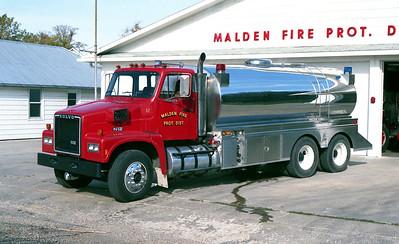 MALDEN  TANKER 52  1985 VOLVO N12 - STEWART TANK   500-3500
