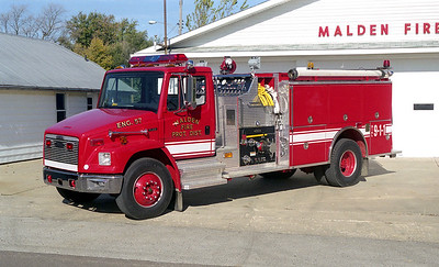 MALDEN ENGINE 57  1998  FREIGHTLINER FL-70 - PIERCE  1250-1000   EA-794