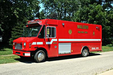 MALDEN RESCUE 53  2008 FREIGHTLINER MT44 - ALEXIS   S-645
