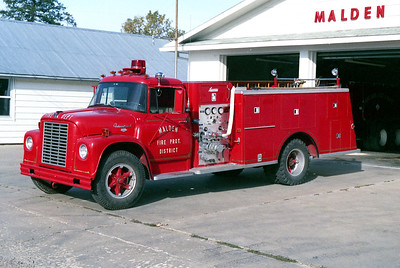 MALDEN  ENGINE 51  1969 IHC LOADSTAR 1800 - LUVERNE  500-500