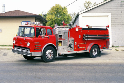 MANLIUS ENGINE 57  1987 FORD C-800 - ALEXIS  1000-1500