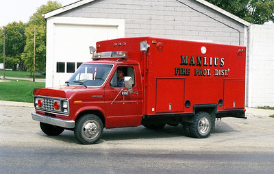 MANLIUS RESCUE 60  1982 FORD ECONOLINE VAN