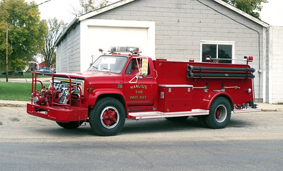 MANLIUS ENGINE 56-A  1977 CHEVY C60 - ALEXIS  500-1000