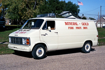 MINERAL RESCUE 3  1979 DODGE VAN