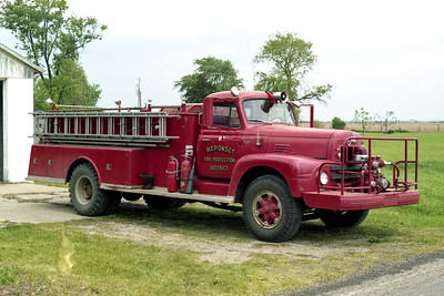 NEPONSET ENGINE 61  IHC R190 OFFICERS SIDE