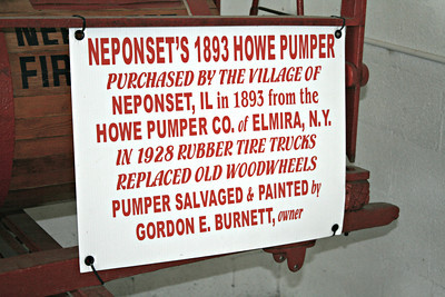 NEPONSET 1893 HOWE