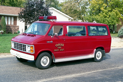 OHIO  CAR  70  1985 DODGE RAM  VAN