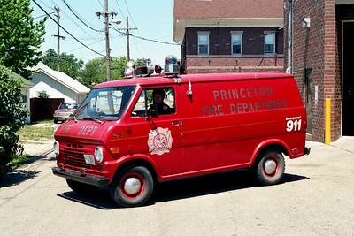 PRINCETON SQUAD 7  1968 CHEVY VAN