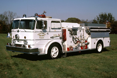 PRINCETON ENGINE  1966 IHC-SEAGRAVE  750-   RON HEAL PHOTO