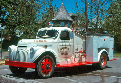 SEATONVILLE VFD  1946 CHEVY - CENTRAL ST LOUIS  500-300