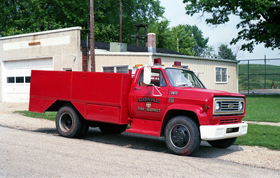 SEATONVILLE  TANKER 2617   1973 CHEVY C60 - FD BUILT  125-1200