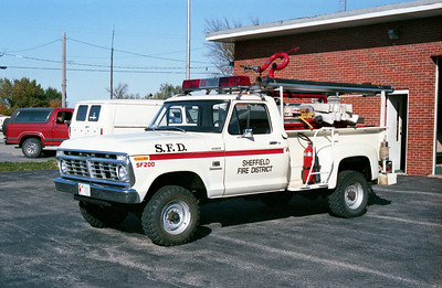 SHEFFIELD  BRUSH 200  1974 FORD F-350 4X4 - LUVERNE  75-200