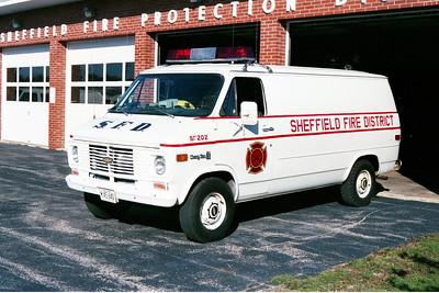 SHEFFIELD  RESCUE 202  1976 CHEVY VAN