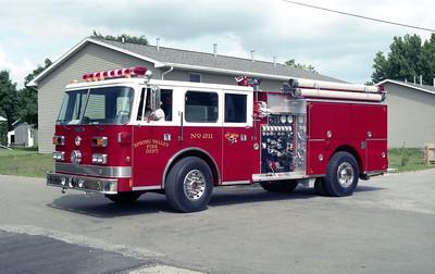 PRING VALLEY  ENGINE 211  1994 PIERCE ARROW  1250-750