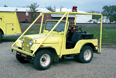TISKILWA FPD BRUSH 96   1970  JEEP - FD BUILT  HP-150