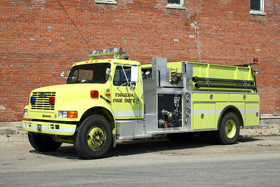 TISKILWA FPD  ENGINE 91  1992 IHC 4900 - PIERCE  750-1250  E-7000