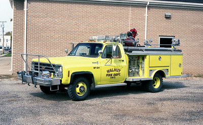 WALNUT  RESCUE 104  1979 GMC - E-ONE  250-250
