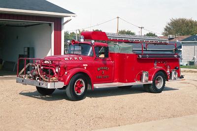 WYANETT  ENGINE 108  1959 GMC - ALEXIS  500-1000  #628