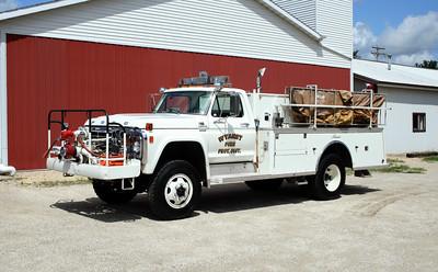 WYANET  ENGINE 108  1978 FORD F-800 - ALEXIS  500-600  #1194