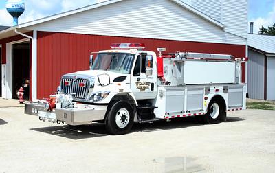 WYANET  ENGINE 107  2009 IHC 7400- ALEXIS  #2066