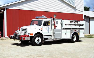 WYANET  ENGINE 106  1994 IHC 4900 - ALEXIS  1000-1000  #1535