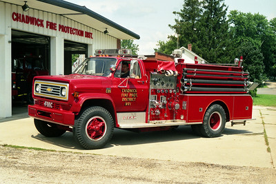 CHADWICK ENGINE 822