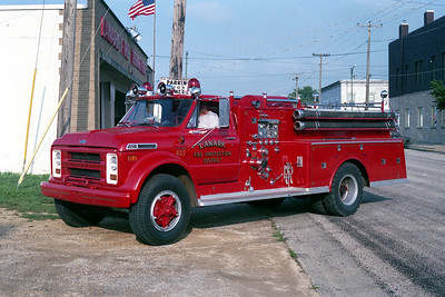 LANARK FPD  ENGINE 422  CHEVY -  ALEXIS