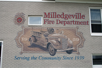 MILLEDGEVILLE FPD WALL LOGO