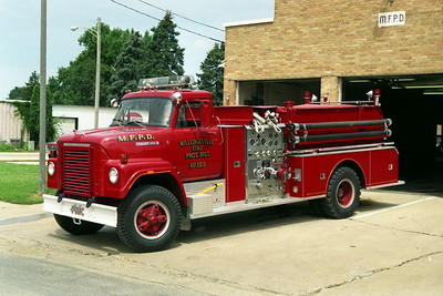 MILLEDGEVILLE ENGINE 523  IHC FLEETSTAR