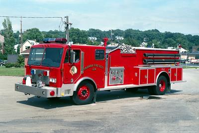 SAVANNA ENGINE 124   1989 PETERBILT - ALEXIS   1500-1000