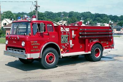 SAVANNA ENGINE 131  1976  FORD C - ALEXIS   300-1000