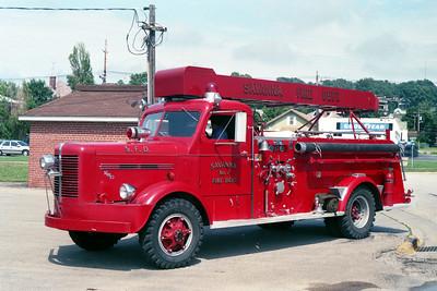 SAVANNA ENGINE 121   1948 FWD   750-500