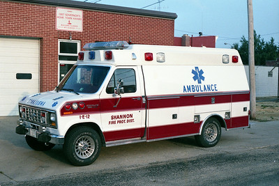 SHANNON AMBULANCE 1-E-12