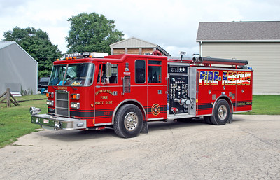 THOMSON ENGINE 322  1995 PIERCE DASH  1500-1000-20F  E-9513-1  X-LAKE COUNTY FD,FL
