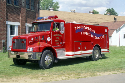 THOMSON  TANKER 331   PETERBILT - CUSTOM FIRE