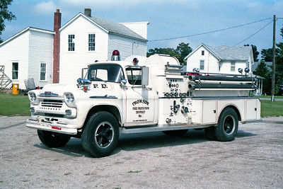 THOMSON  ENGINE 321   1958 CHEVY - JOHN BEAN   750-500