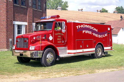 THOMSON  TANKER 331  PETERBILT  330 - CUSTOM FIRE  0-2000  04-IL-06