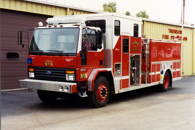 THOMSON  ENGINE 321  1992 FORD - ALEXIS   1000-1400  #1507  BILL FRICKER PHOTO