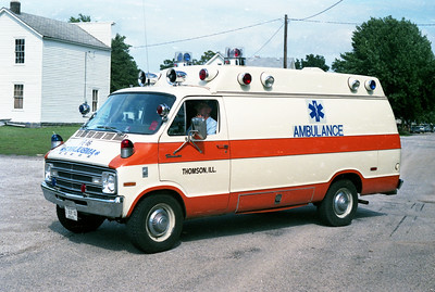 THOMSON  AMBULANCE  1978 DODGE - MEDICRUISER