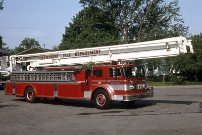 CHAMPAIGN TRUCK 111  1966 FWD - PITMAN  85'     RON HEAL PHOTO