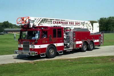 CHAMPAIGN FD  TRUCK 111