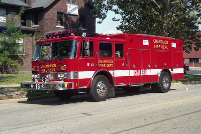 CHAMPAIGN FD   RESCUE 18  PIERCE ARROW copy